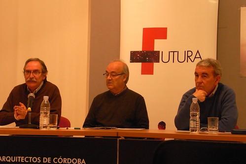 Debate Futura en Colegio Arquitectos Jose mellado Pepe Rodriguez Rueda y Manuel Perez Palacio Congresos