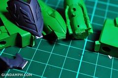 1-100 Kshatriya Neograde Version Colored Cast Resin Kit Straight Build Review (43)