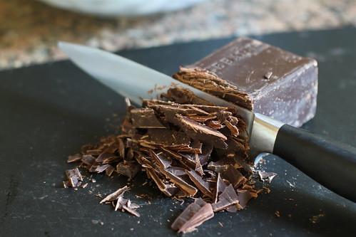 chop that chocolate