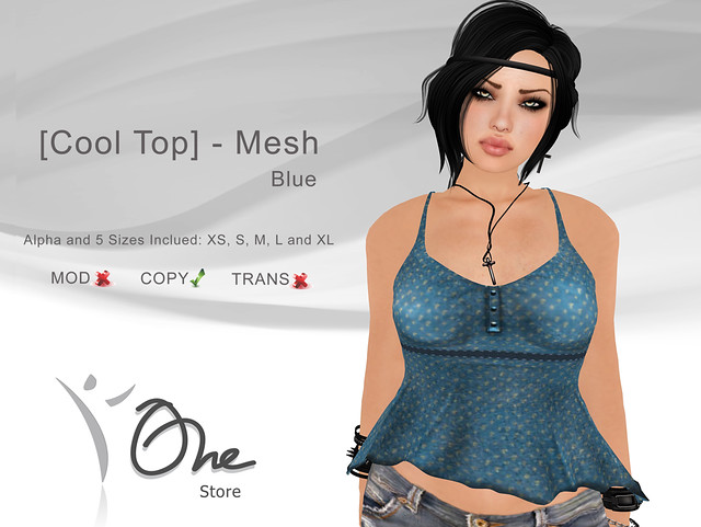 [Cool Top] Blue