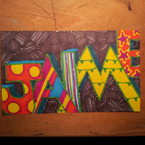 name doodle icad by Jaime Haney