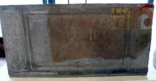 RIB 1147; re-used as a paving slab