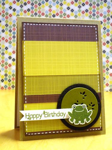 Froggy Birthday