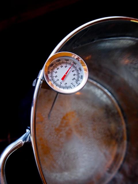 1st HomeBrew - Boil