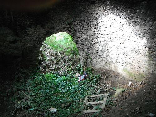 Interior del pou de Ferreries