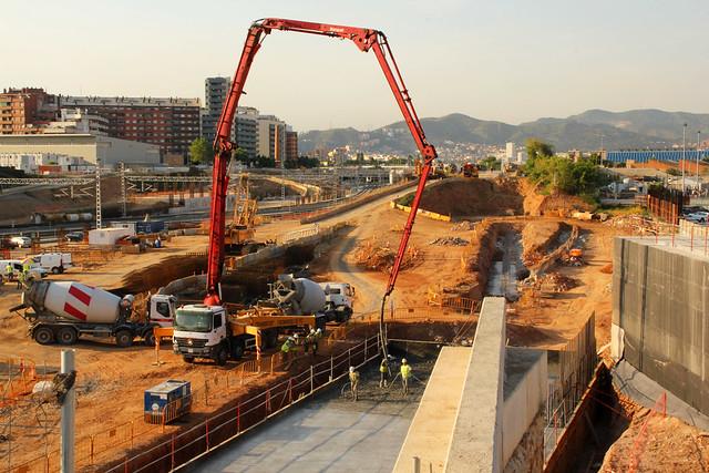 Zona nuevo puente del trabajo lado mar