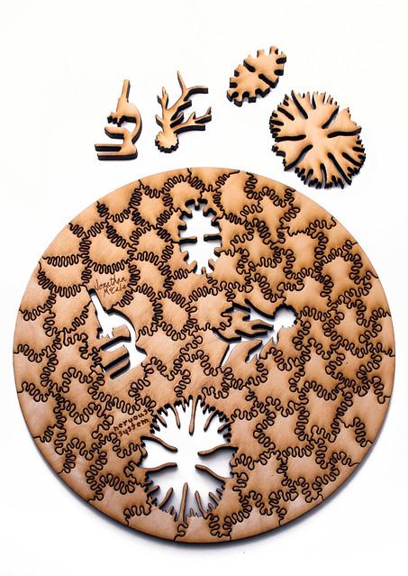 Generative Jigsaw Puzzles
