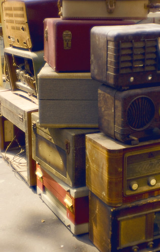 Luggages and Radios