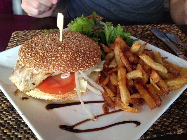 Mahi-mahi burger Do Brazil