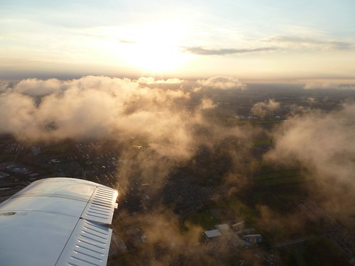 Sunset over Wallsend