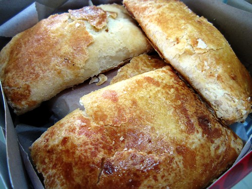 Turkey ham pastry