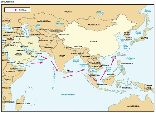 Chinas sea lines of communication. DoD, 2006.