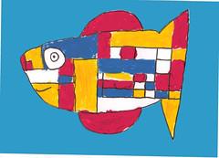 Mondrian Fish