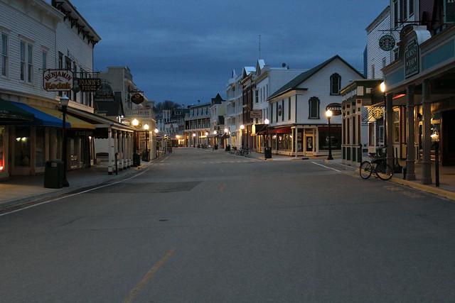 Early Morning on Mackinac