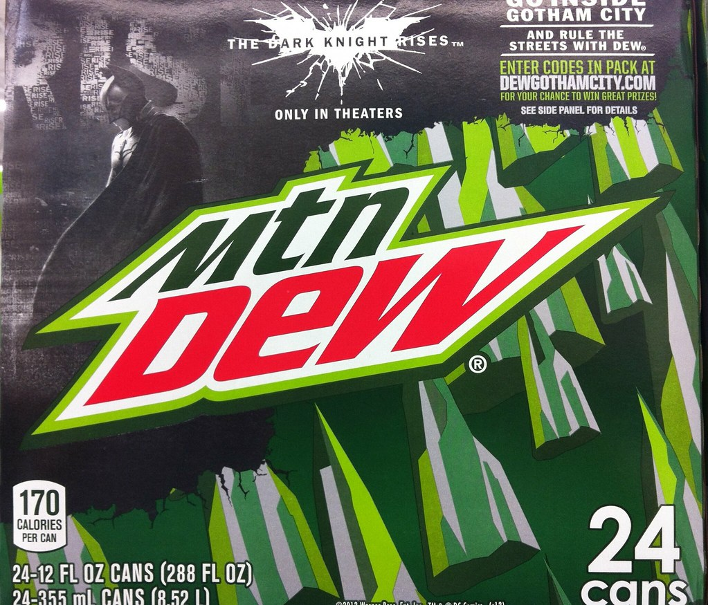 Mt Dew Dark Knight Rises