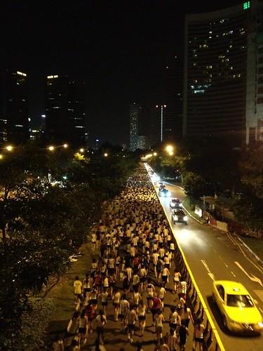 sundown 2012 10K race crowd