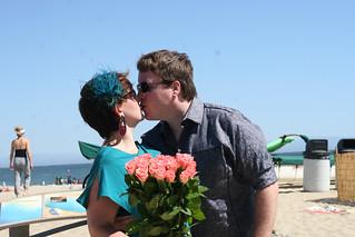 Pre Wedding Kiss