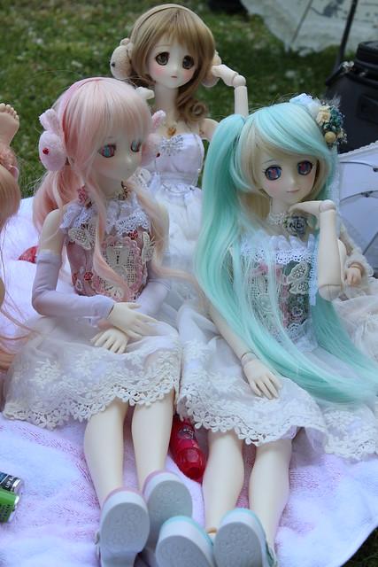 Lucy, Mariko and Nia
