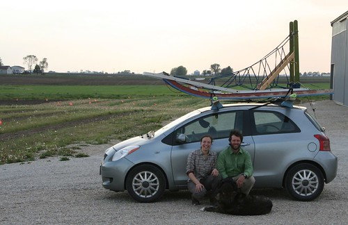 wilderness adventurers visit the farm!