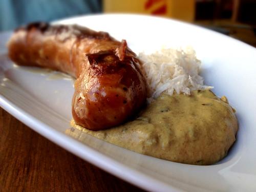 Käsekrainer Sausage at BierBeisl