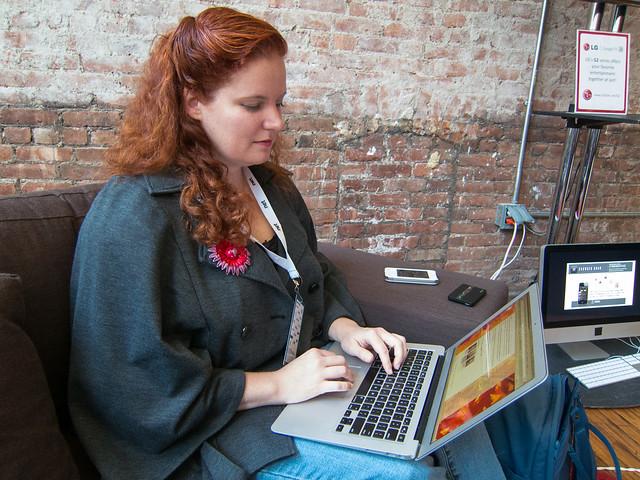Rusty blogging at Internet Week New York 2012