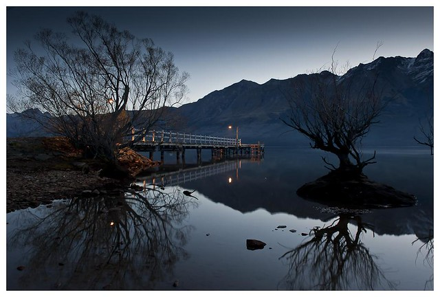 Glenorchy - last light von philip_dang