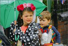 Umbrella at the ready!