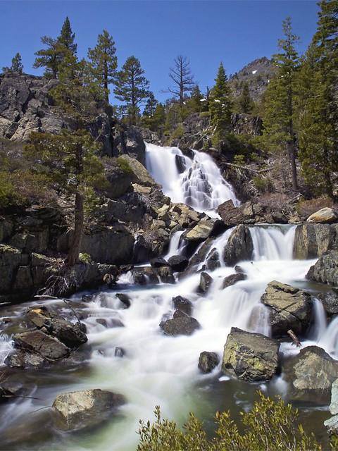 Upper Glen Alpine Falls Lake Tahoe CA  Upper Glen Alpine   Flickr  Photo Sharing