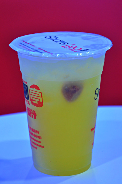 Lemon Kumquat Fruit Tea with Plum