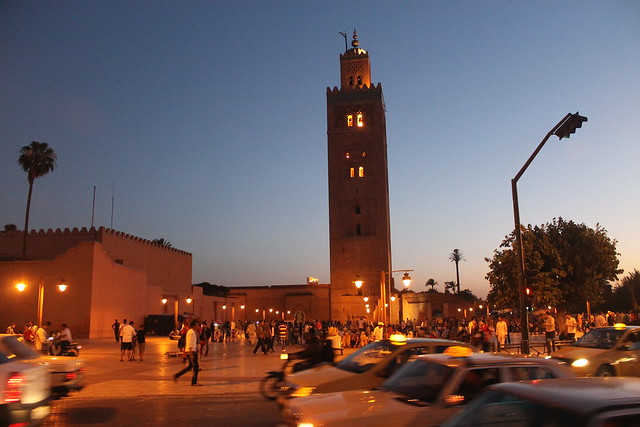 Qué ver en Marrakech: Mezquita Kutubia