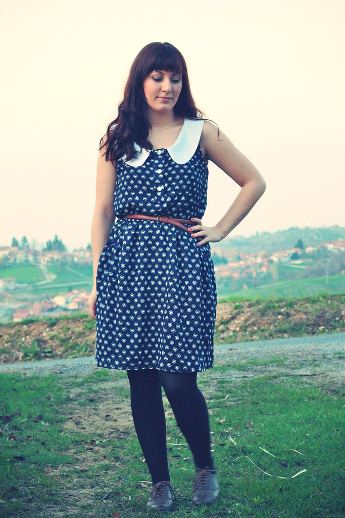 Paunnet's Apple Print Banksia Dress