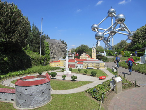 mini-europe and the atomium