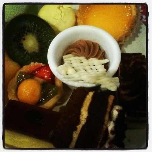 China Bar desserts