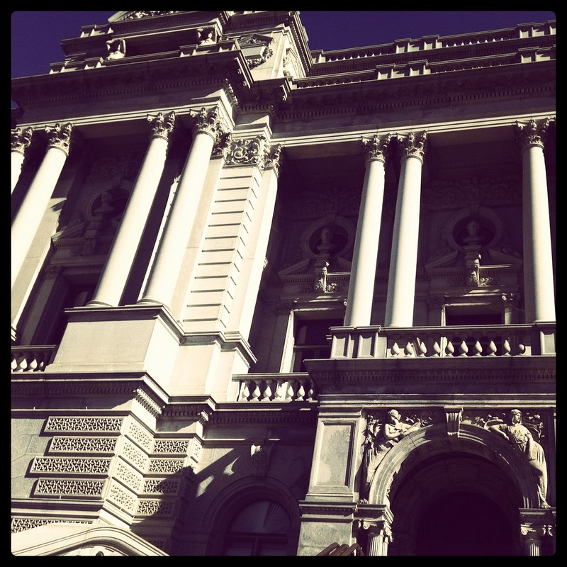 Gorgeous! The Library of Congress, taken on a lovely almost-spring morning (Instagrammed photo)- February 2012