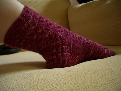Rock + Purl Mystery Sock
