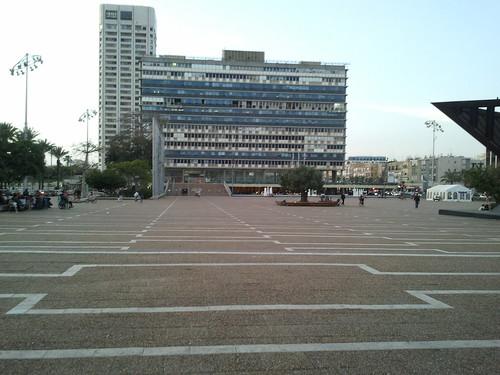 המדרגות הנסתרות בכיכר רבין
