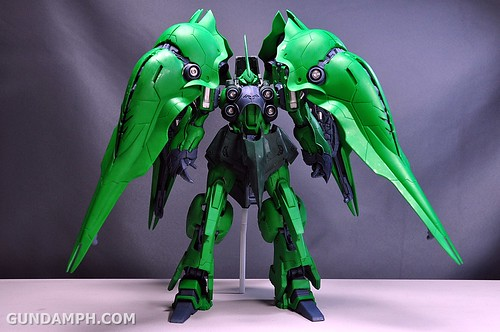 1-100 Kshatriya Neograde Version Colored Cast Resin Kit Straight Build Review (95)