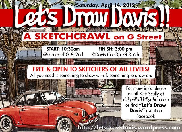 let's draw davis april 2012, G St