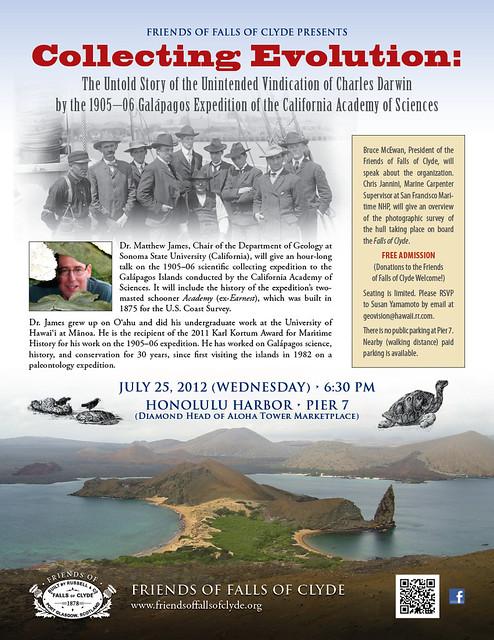Dr James Talk flyer