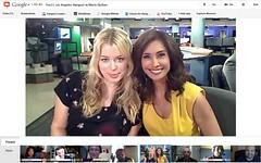 Amanda de Cadenet Fox LA Hangout