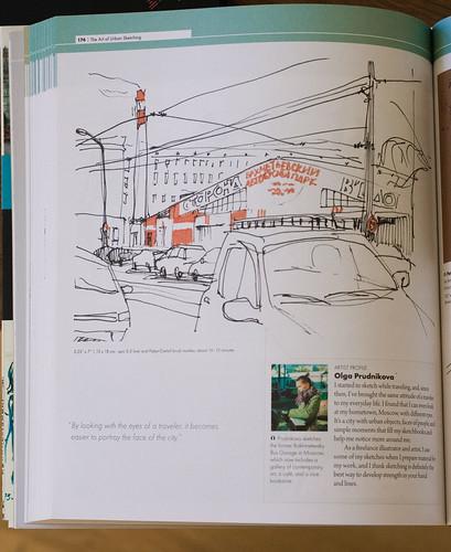 urban sketching - book