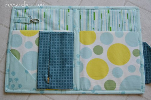 Envelope Purse Interior