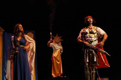 Alcmena, Sol y Júpiter