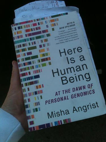 Here Is A Human Being, by Mischa Angrist