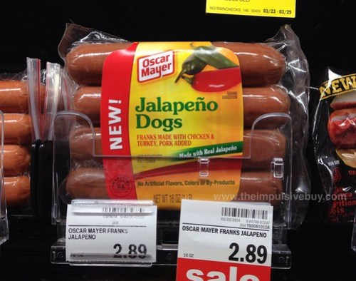 Oscar Mayer Jalapeno Dogs