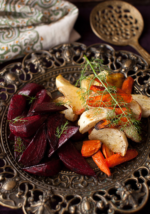 Roasted Beets and Turnips 5