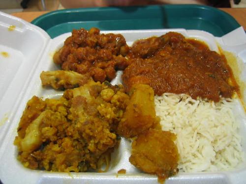 Chicken Tikka Platter