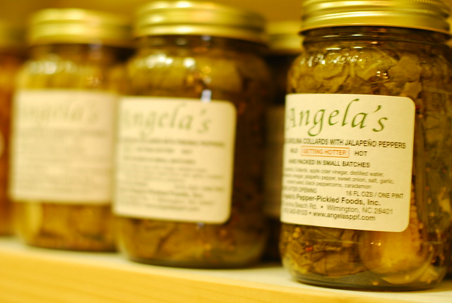 100 foods to eat in 100 counties: angela's pepper-pickled foods