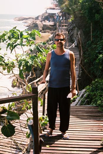 boardwalk posing