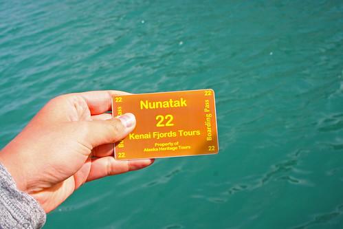 Nunatak boarding pass